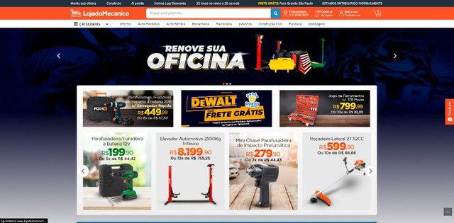 Crie sua loja virtual ou site com o menor PREÇO do Brasil! (Leia a descrição) - Foto 3