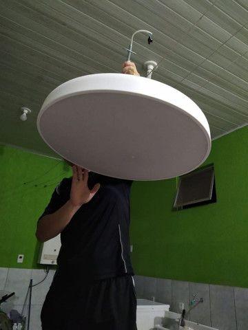 Luminária Redonda 60 cm - Foto 3