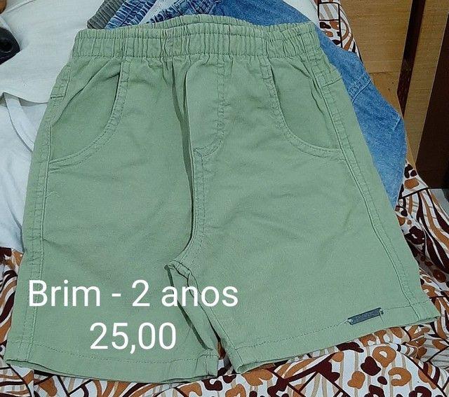 Shorts de 1 a 3 anos - vários  - Foto 2