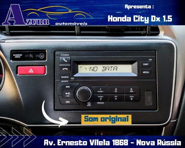 CITY AUTOMÁTICO CVT ÚNICO DONO PNEUS OKM PLACA A  IMPECÁVEL - Foto 9