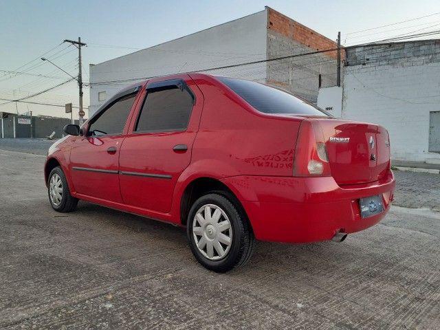 Vendo ou Troco Por Strada ou Montana Renault Logan Expression 1.0 16V - Foto 4