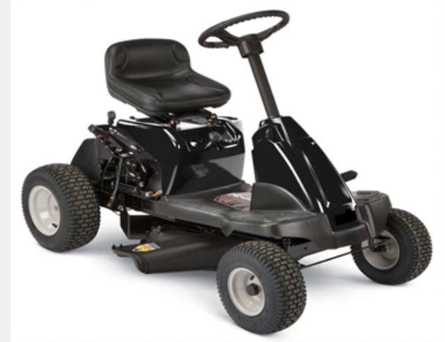 Trator cortador de grama, Mini Rider