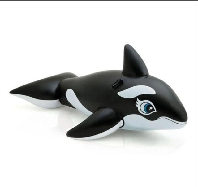 Baleia Orca Inflável