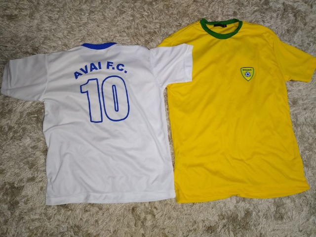 Camisa Seleção Brasileira Futsal e  Avaí originais - Foto 2