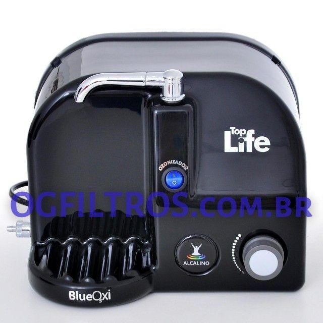 Purificador de água BlueOxi não gela, ioniza, alcaliniza e libera ozônio - Foto 4