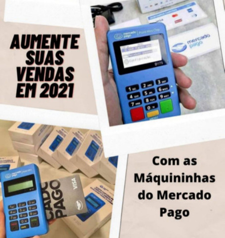Máquinas Mercado Pago Mini, Blue e Chip - Distribuidor Oficial