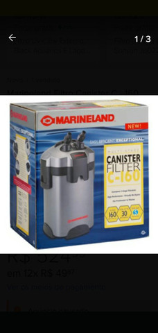 Canister Marineland Filtro - Foto 3