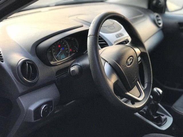 Ford KA SE 1.0 Flex Manual Branco 2015 - Foto 14
