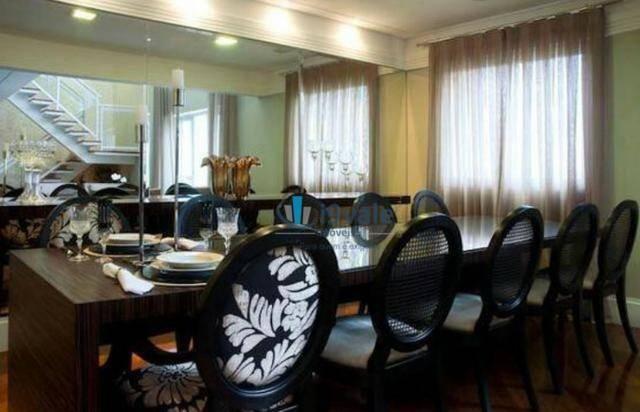 Apartamento de revista! cobertura duplex 300m² 3 vagas, varanda gourmet, lazer completo - Foto 6