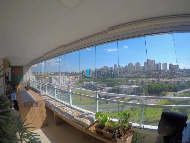 Porteira fechada !!!apartamento com 4 dormitórios à venda, 147 m² por r$ 970.000 - vila em - Foto 2