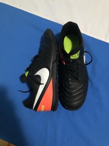 3ac6380c393a8 Chuteira Society Nike Tiempo X - Esportes e ginástica - Centro, Novo ...