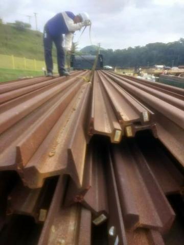 Trilhos TR-49 ( 47 barras com 12 metros) - Foto 3