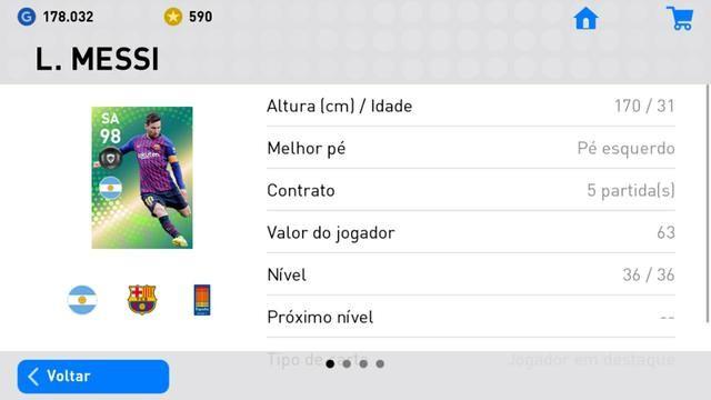 Pes Mobile 2019 (CELULAR) - Videogames - São Luís, Maranhão