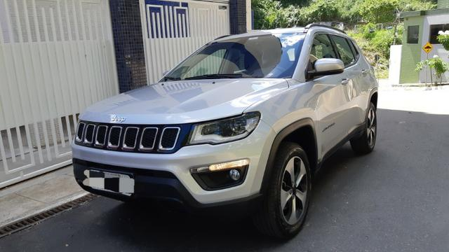 Jeep Compass Lonjitude 2.0 Diesel 4x4 At 2018 Novinho