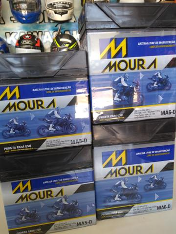 Bateria Moura fazer150 fan Titan factor com entrega em todo Rio!
