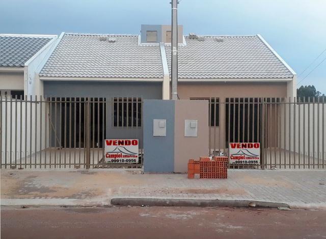 Casa no Florais com quintal, financia MCMV