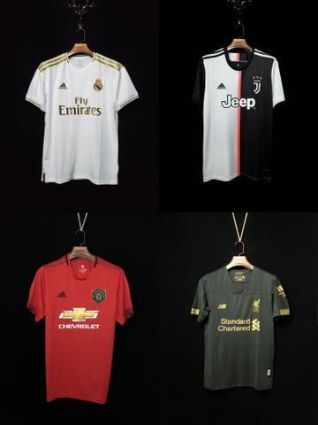 Novas Camisas dos Clubes Europeus 2019/20