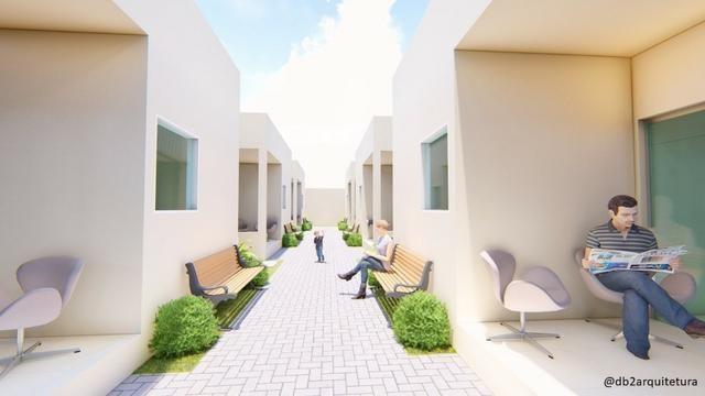 Casa no Luiz Gonzaga - 66m², Condomínio fechado com 6 casas, Financiamento Caixa - Foto 3