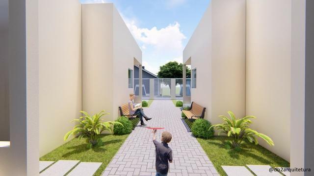 Casa no Luiz Gonzaga - 66m², Condomínio fechado com 6 casas, Financiamento Caixa - Foto 5