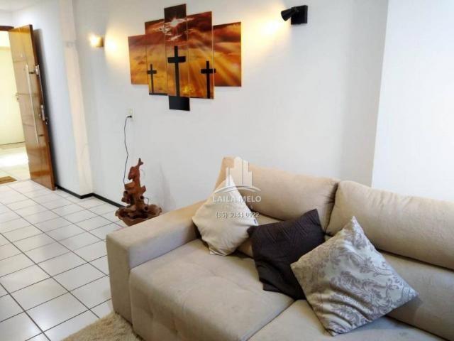 Apartamento com 3 dormitórios à venda, 53 m² próximo ao mega atacadista- cambeba - fortale - Foto 4
