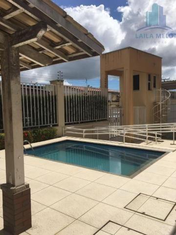 Apartamento villa bella mobiliado com 02 suítes; engenheiro luciano cavalcante, fortaleza - Foto 19