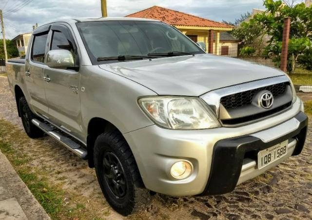 Toyota Hilux CD D4-D 2.5 TB Diesel 4x4 Completa cambio Mecânico 2009