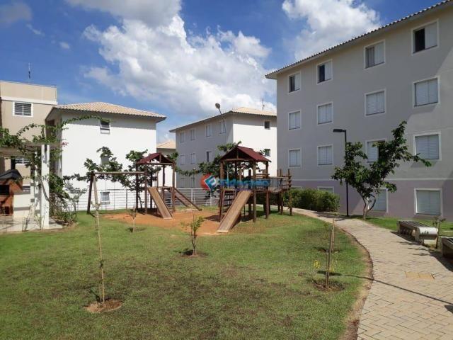 Apartamento com 2 dormitórios para alugar, 45 m² por r$ 550,00/mês - residencial guairá -
