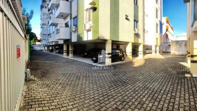 Apartamento com 3 dormitórios à venda, 77 m² por r$ 258.000,00 - benfica - fortaleza/ce