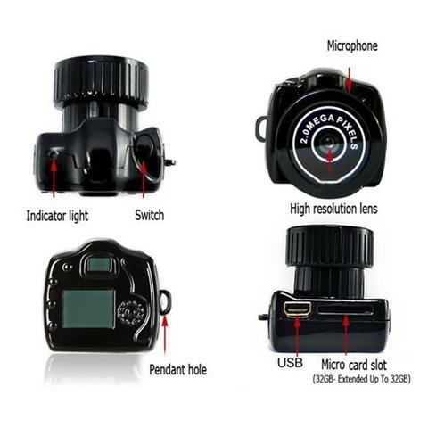 Mini camera espia - Foto 4