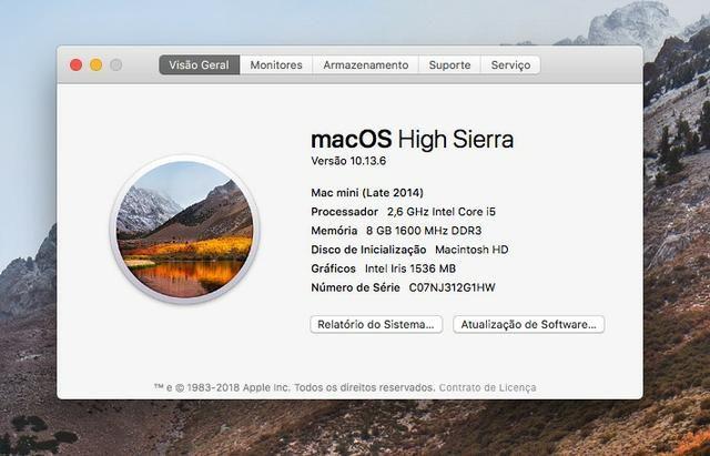 Mac Mini i5 2,6GHz - 8GB RAM - 500 GB HDD - Foto 5