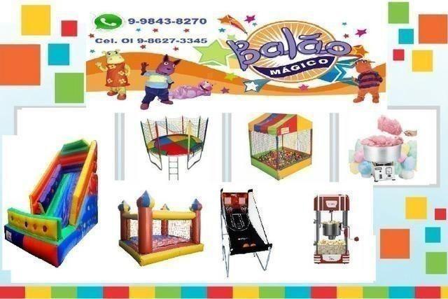 Aluguel de Brinquedos para festas - Anúncios em .