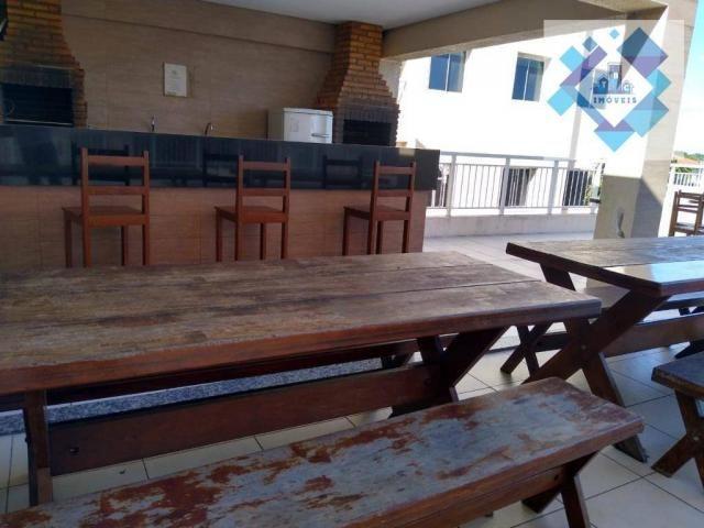 Apartamento com 3 dormitórios à venda, 63 m² por R$ 260.000 - Parangaba - Fortaleza/CE - Foto 2
