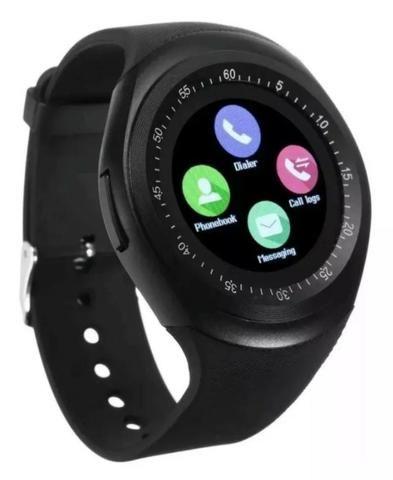 Relógio smartwatch função celular - Foto 6