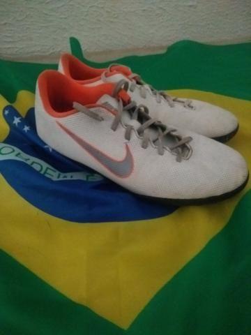 Chuteira society Nike mercurial - Foto 2