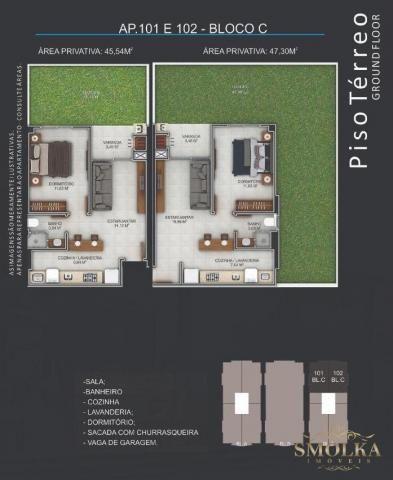 Apartamento à venda com 1 dormitórios em Ingleses, Florianópolis cod:9701 - Foto 13