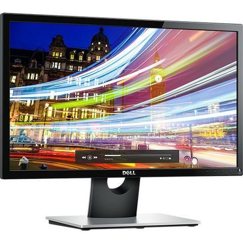 """Monitor Lcd Led 21,5"""" Dell SE2216H Full HD Preto"""