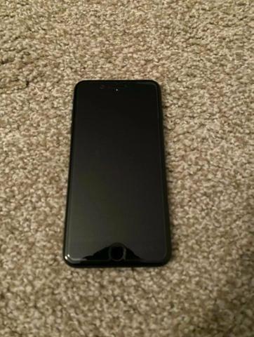 IPhone 7 Plus Preto Mate - Muito Conservado - Foto 2