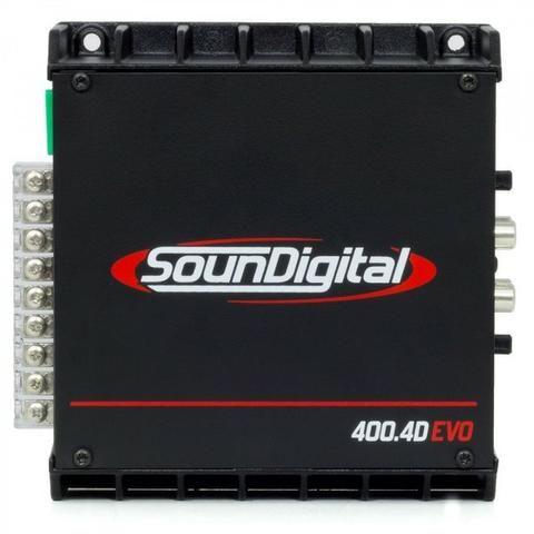 Modulo Soundigital Sd400.4 400w rms 4 Canais - Foto 4