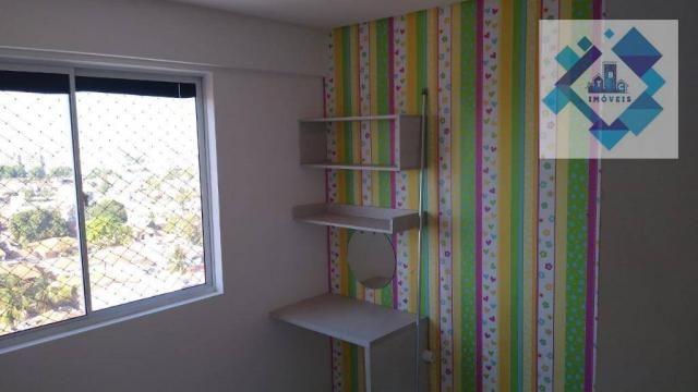 Apartamento com 3 dormitórios à venda, 63 m² por R$ 260.000 - Parangaba - Fortaleza/CE - Foto 5