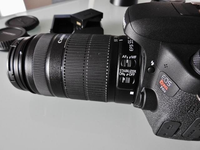 Máquina Fotográfica Canon Rebel T6s - Foto 6