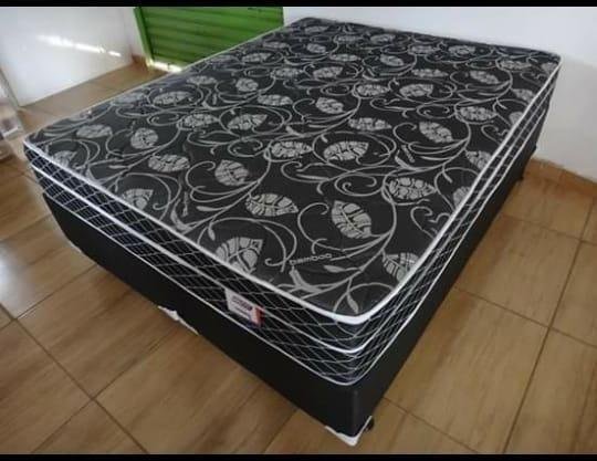 Cama queen size molas bonnel apenas 799 preço de fabrica - Foto 4