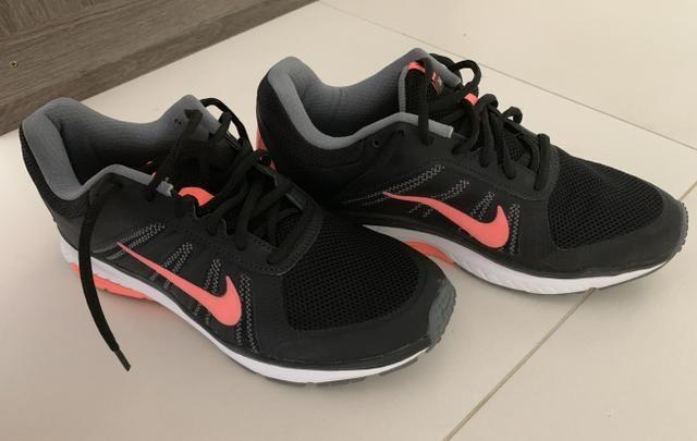 f7ac25d4ad Tênis Nike Dart 12 MSL Feminino - Preto e Salmão TAMANHO 37 - Roupas ...