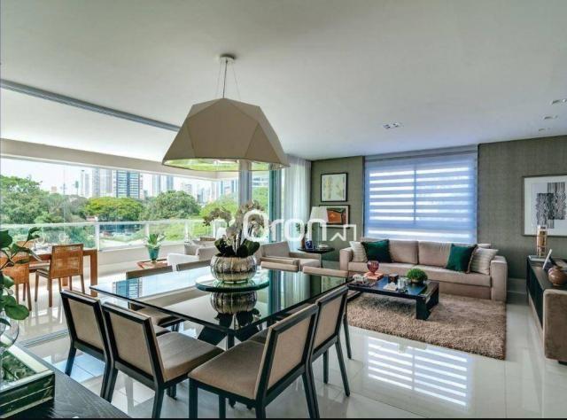 Apartamento com 5 dormitórios à venda, 382 m² por R$ 3.019.000,00 - Setor Oeste - Goiânia/ - Foto 6