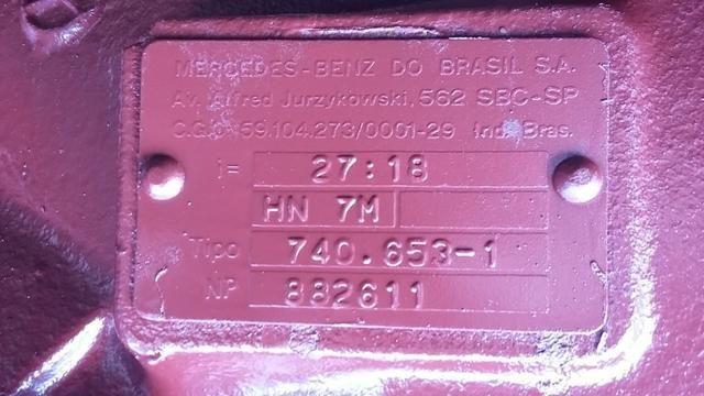 Eixo Diferencial Mercedes-Benz cubo redutor - Foto 4