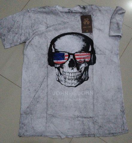 Camisetas, blusas masculinas - Foto 2