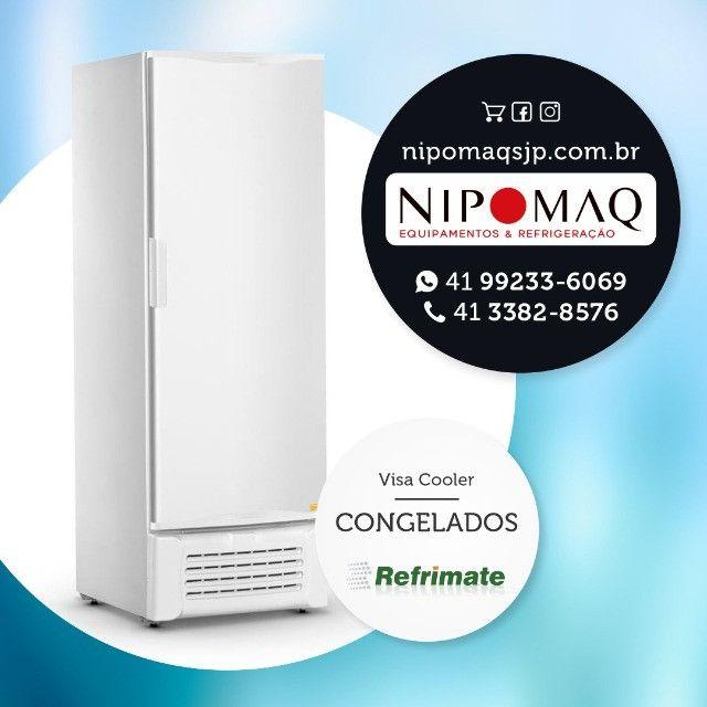 GHDE220 Freezer Horizontal Tampa Sólida Dupla ação Degelo Manual 220 Litros - Gelopar - Foto 3