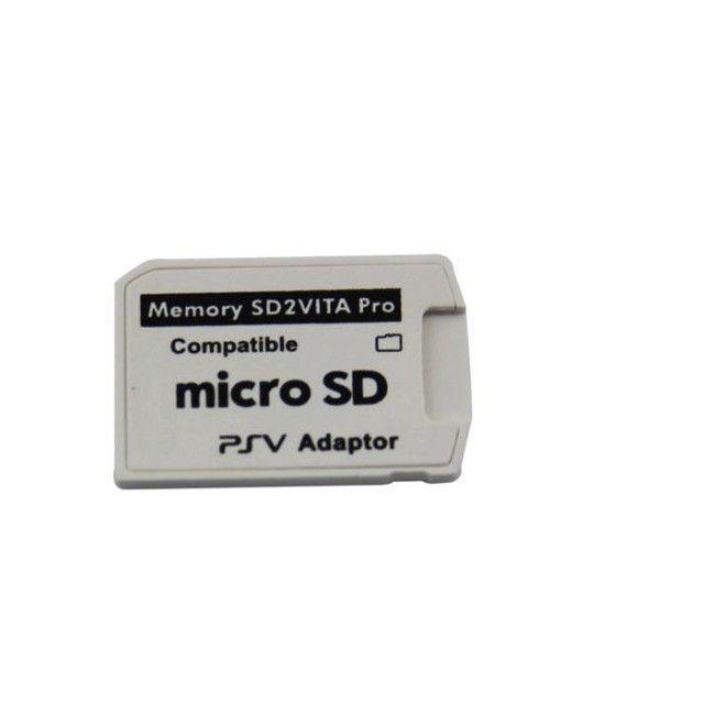 Adaptador Sd2vita 5.0 Pro Micro Sd Ps Vita Psvita - Foto 2