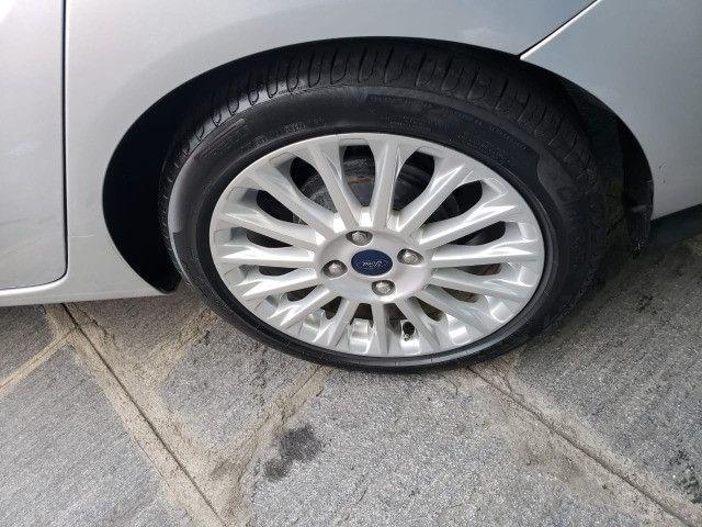 Ford Fiesta 1.6 Titanium 2015 Sedan. Um Dos Mais Novos De Campina - Foto 9