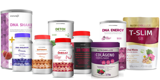 Revenda produtos para uma vida mais saudável!