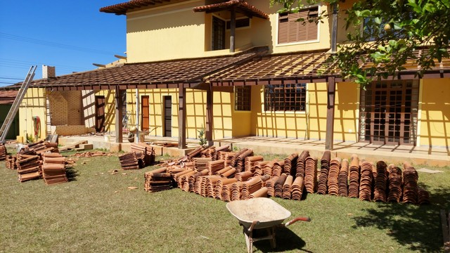 Doação de telhas